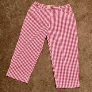 Vintage High Waisted Ralph Lauren Capri Pants